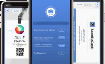 Business Card Scanner App